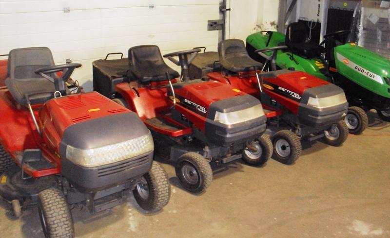 Zoliapjoves traktoriukai naudoti